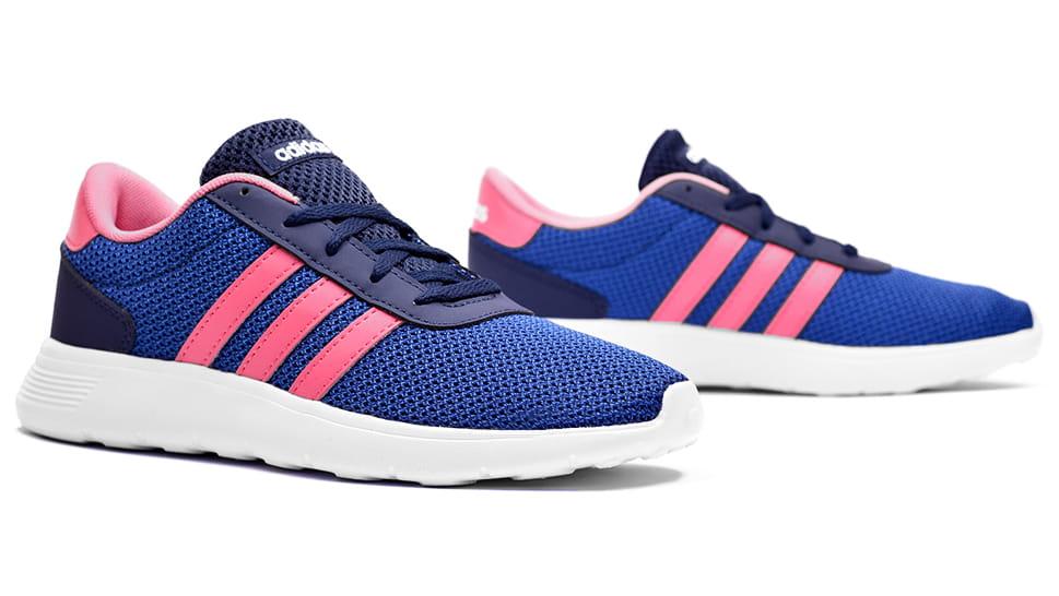 Adidas Lite Racer W Buty Damskie Tanie Niebieskie