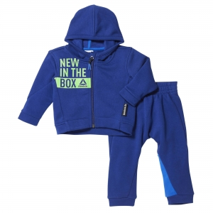 Dres Dziecięcy Reebok ELEMENTS INFANT FULL ZIP HOODIE SET (BR7077)
