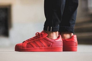 "Buty adidas Superstar ""Collegiate Red"" (B42621)"