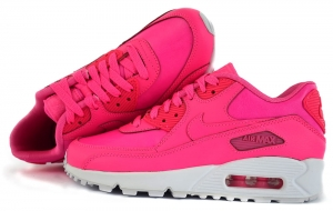 "Buty Nike Air Max 90 Leather (GS) ""Pink Pow"" (724852 600)"