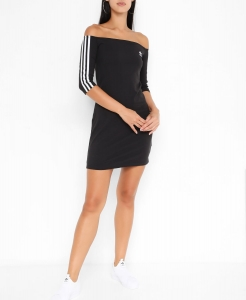 Sukienka Adidas Originals Shoulder czarna (ED7521)