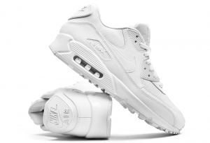 Buty Męskie Nike Air Max 90 Essential All White (537384 111)