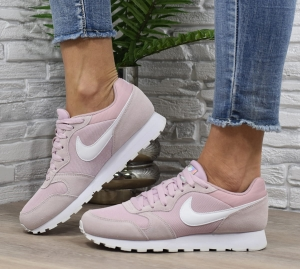 Buty Damskie WMNS Nike Md Runner 2 Pudrowe (749869 500)