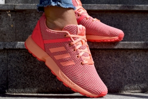 "Buty Adidas ZX Flux SPLIT ""Sungow/Flared"" (AQ6292)"