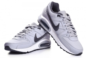 Buty NIKE AIR MAX COMMAND LEATHER szare (749760 012)