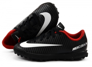 Buty juniorskie Nike Mercurialx Vortex III TF (831954-002)