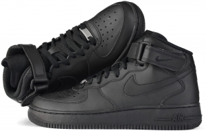 "Buty Nike Air Force 1 Mid 07 ""All Black"" (315123 001)"