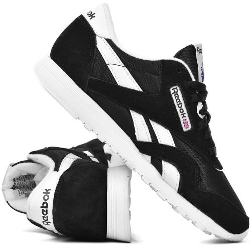 72019137 Buty damskie REEBOK CLASSIC NYLON czarne (6606) ProSport24.pl - internetowy  sklep sportowy