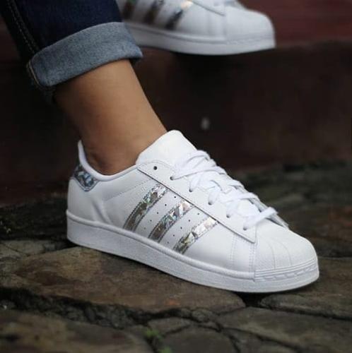 Białe Buty adidas Originals Superstar W CG5464 | Sportowe