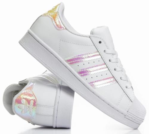Buty Dziecięce Adidas Originals Superstar Białe (FV3147)