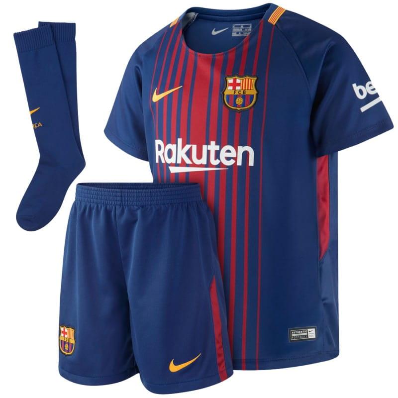 najwyższa jakość w sprzedaży hurtowej moda designerska Strój piłkarski dziecięcy Nike FC Barcelona Stadium Home