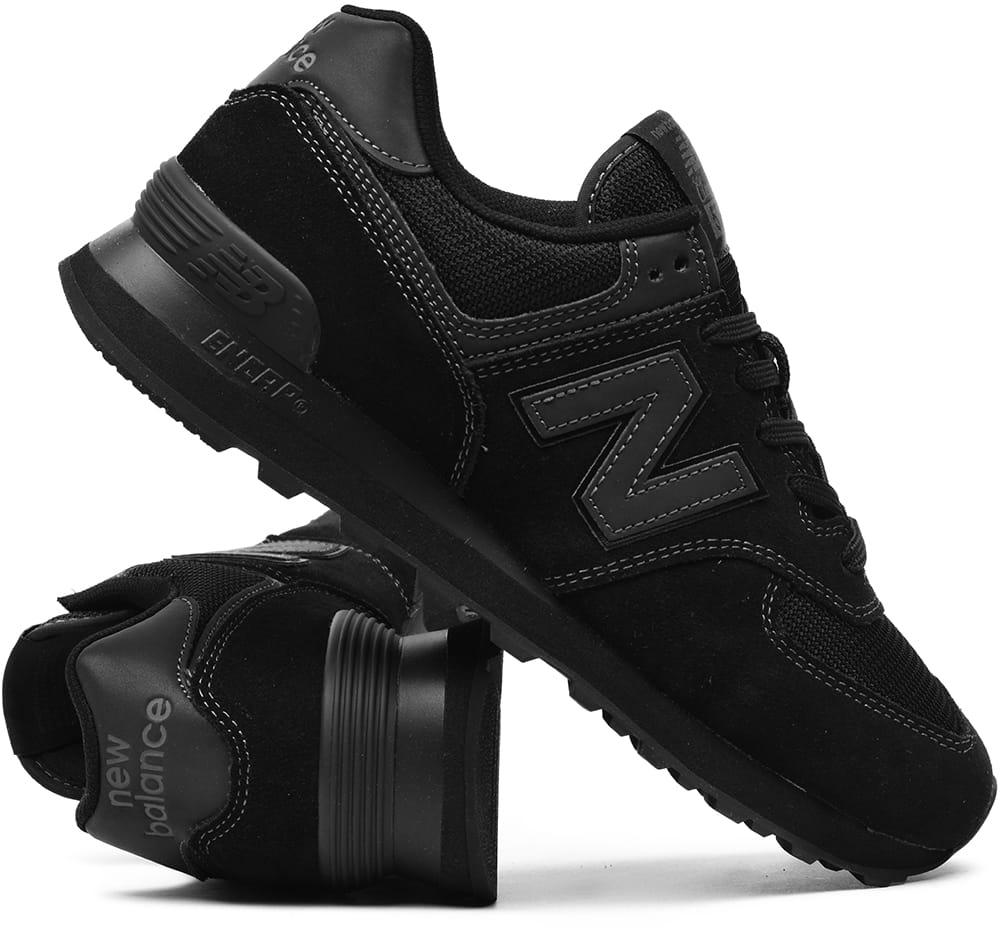 3d9b9f0f8 Buty męskie New Balance ML574ETE czarne ProSport24.pl - internetowy ...
