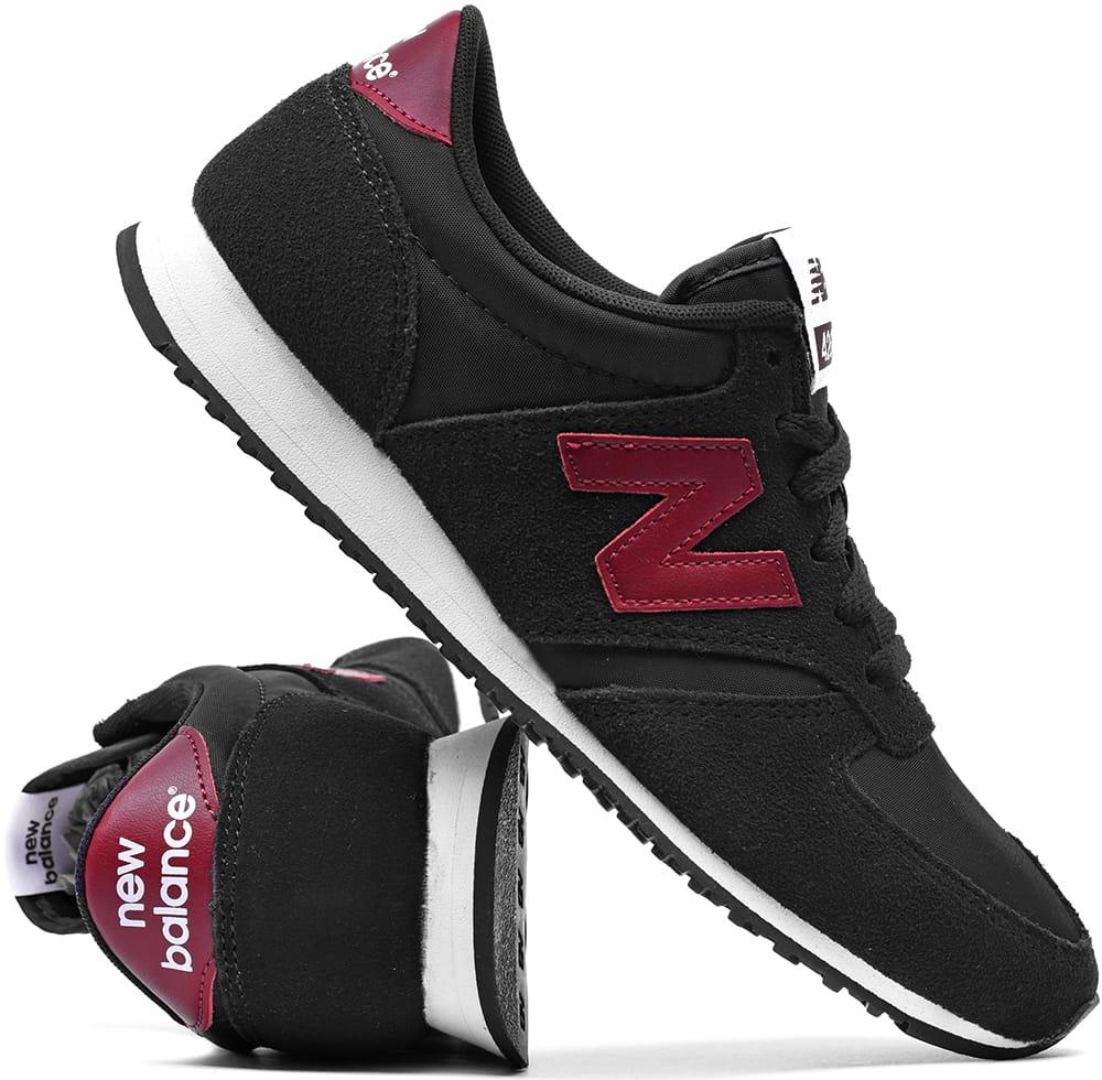 delikatne kolory nowy styl kupić Buty damskie New Balance U420BLK czarne