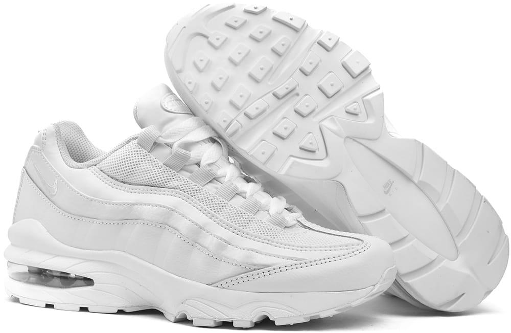 Buty damskie Nike Air Max 95 AQ3147 100 białe 38,5 Ceny i