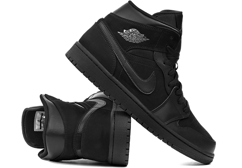 21daec0b Buty męskie Nike Air Jordan 1 Mid Black (554724 050) ProSport24.pl ...