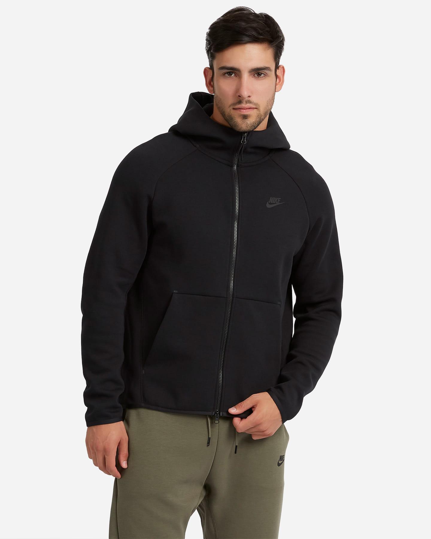 Bluza męska Nike Sportswear Tech Fleece czarna (928483 010)
