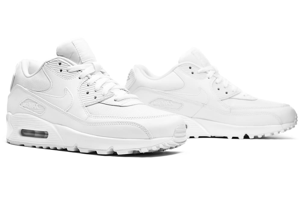Buty Męskie Nike Air Max 90 Essential All White (537384 111