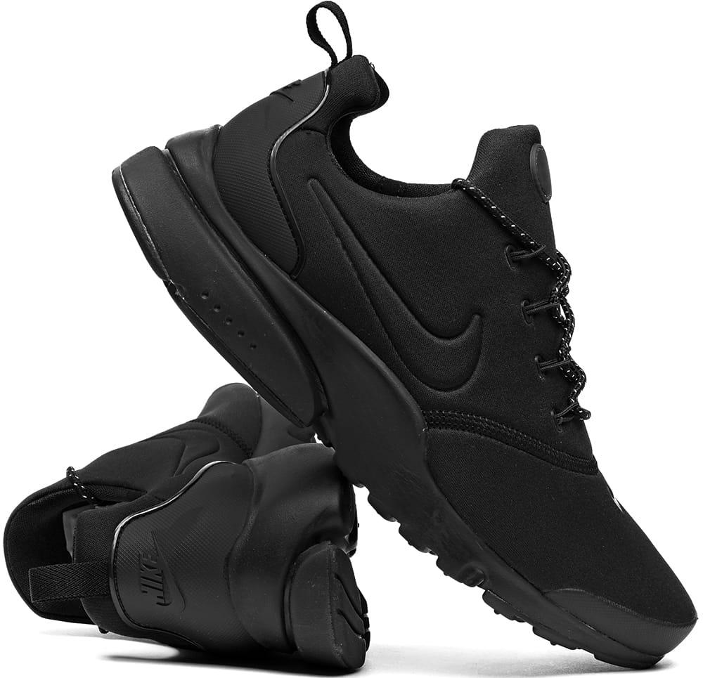 buty czarne nike męskie