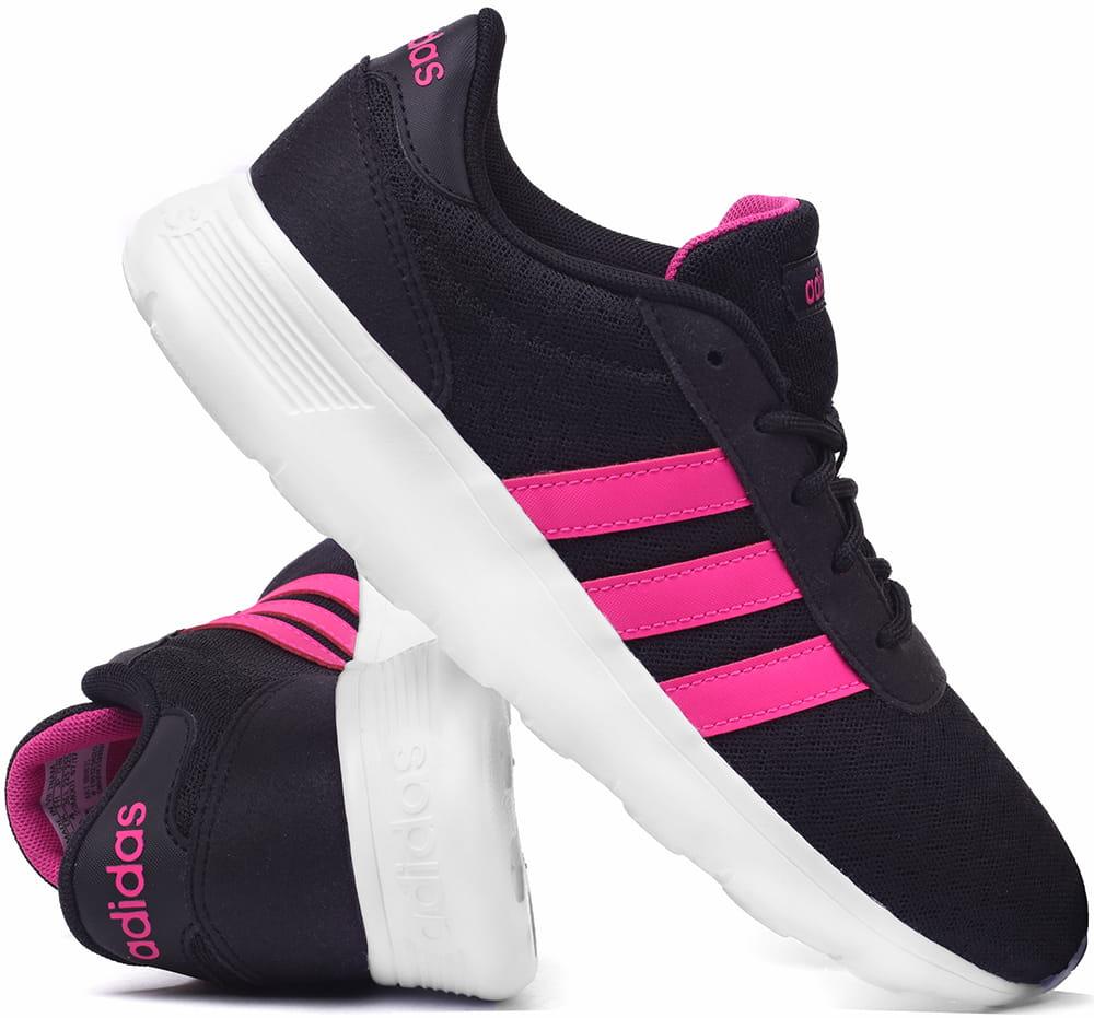 Buty Damskie Adidas Lite Racer W Czarno Rozowe Bb9835 Prosport24 Pl Internetowy Sklep Sportowy