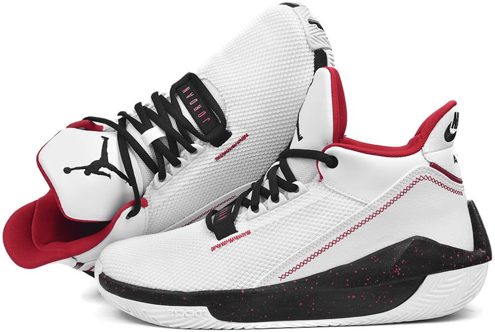 Buty męskie Nike Air Jordan 2x3 białe (BQ8737 101