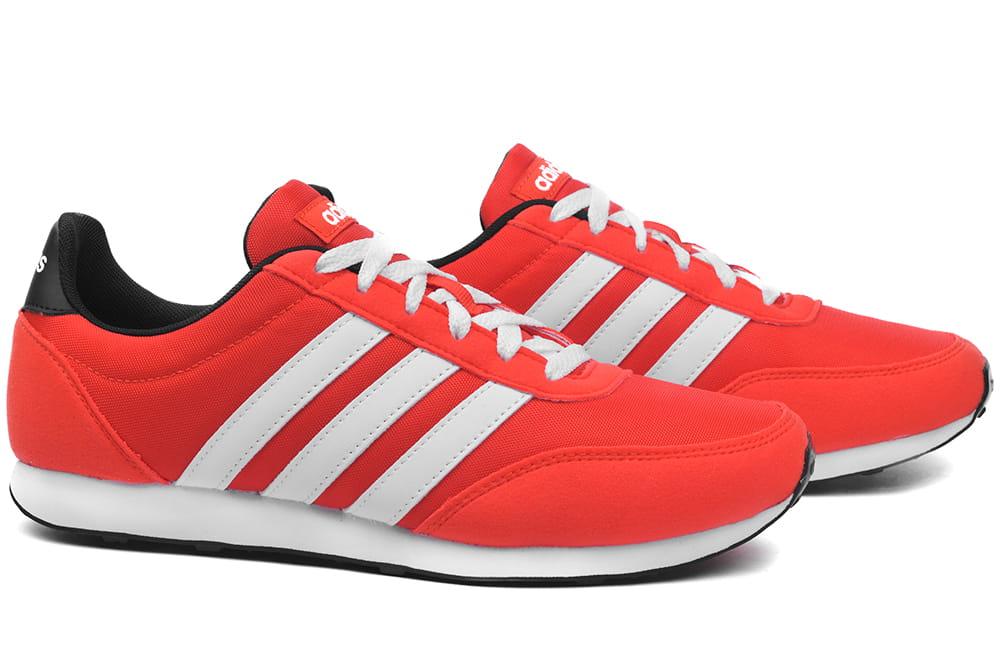 Buty męskie Adidas V Racer 2.0 czerwone (F34449) ProSport24