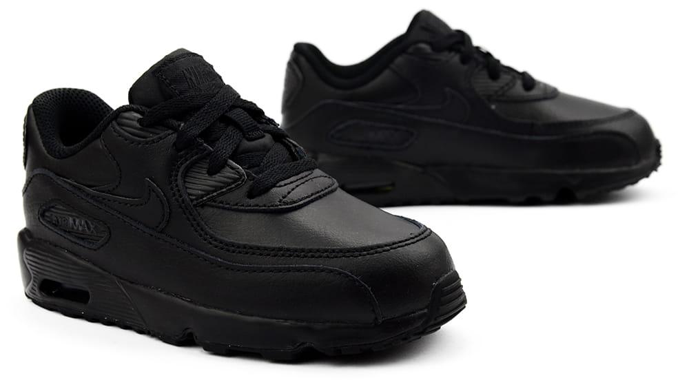 Buty Dziecięce Nike AIR MAX 90 LTR (TD) (833416 001)